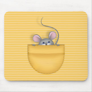 Mouse in Pocket Mouse Pads