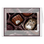 Mouse in the Chocolate Box Greeting Cards