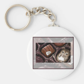 Mouse in the Chocolate Box Keychain