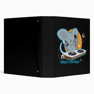 Mouse in the House 3 Ring Binder