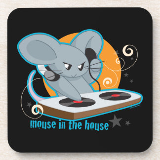 Mouse in the House Beverage Coaster