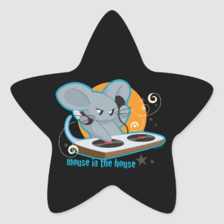 Mouse in the House Star Sticker