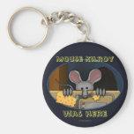 Mouse Kilroy Keychain