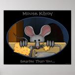 Mouse Kilroy Print