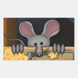 Mouse Kilroy Sticker