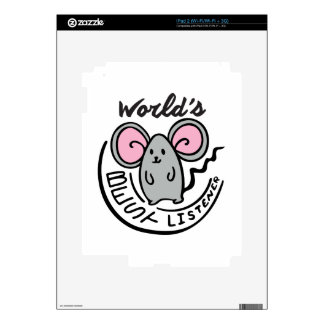 Mouse Listener Decal For iPad 2