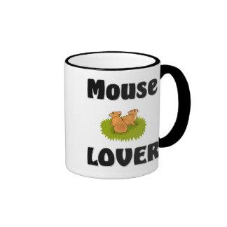 Mouse Lover Ringer Coffee Mug