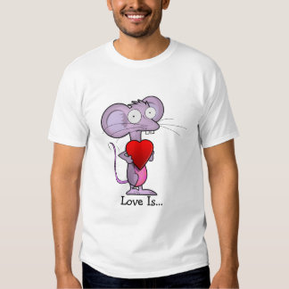 Mouse loves you tee shirt