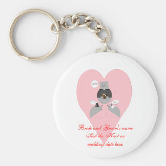 Mouse Marriage Keychain