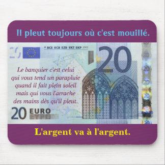 """mouse mat """"20 euros """""""