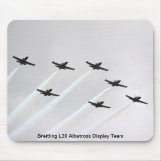 Mouse Mat - Breitling L39 Albatross Display Team Mouse Pad