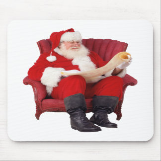 Mouse mat Father Christmas Mousepad