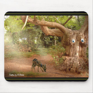 """mouse mat """"fawn """" mouse pad"""