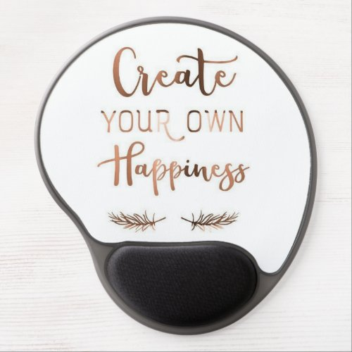 Mouse mat Freezing Create your own happiness