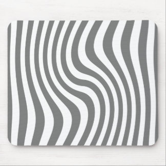"Mouse mat - Model ""Streaked"" - Gray Mouse Pad"