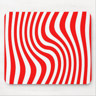 Mouse mat - Streaked - red Colour Mouse Pad