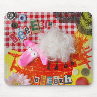 Mouse mat Sweet white sheep Mouse Pad