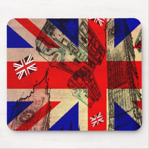 mouse mat the U.K. FLAG Mouse Pad