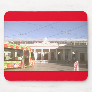 mouse mat tram gareSNCF Montpellier 2016 Mouse Pad