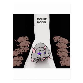 Mouse Model Postcards