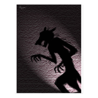 Mouse Monster Postcard