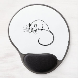 Mouse Mousepad with Retro Vintage Critter Gel Mouse Pad
