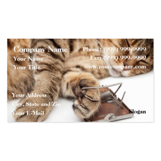 Mouse nightmare business card