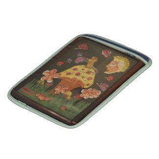 Mouse On A Mushroom Sleeve For iPads