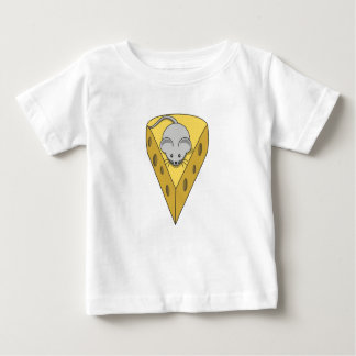 Mouse on cheese baby T-Shirt