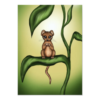 mouse on plant card