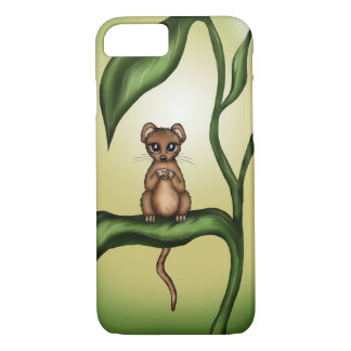 mouse on plant iPhone 8/7 case