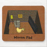 "Mouse Pad<br><div class=""desc"">Give your mouse a place to live with this funny mouse pad. complete with flat screen TV and comfortable chair. home is where the cheese is.</div>"