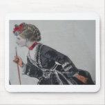 Mouse pad, 19th century fashion illustration alfombrillas de raton