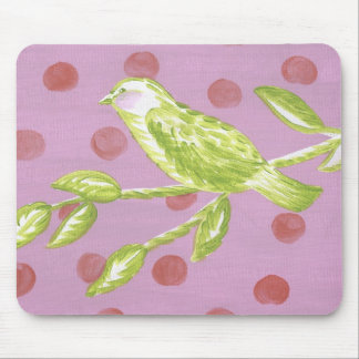 Mouse Pad - Bird on a Branch