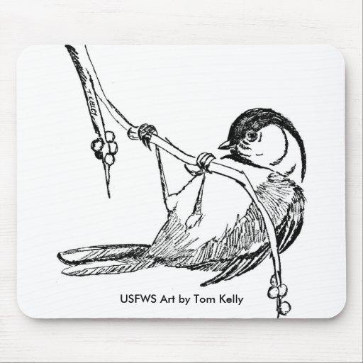 Mouse Pad / Black-Capped Chickadee