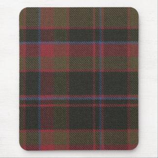 Mouse Pad Buchan Clan Weathered Tartan Print