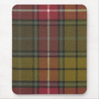 Mouse Pad Buchanan Weathered Tartan Print