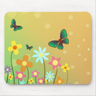 Mouse Pad  -  Butterflies