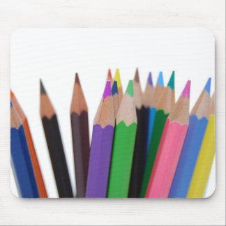 Mouse pad Coloured pencils