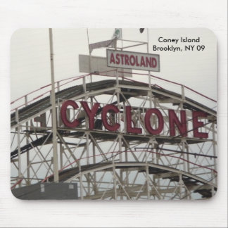 Mouse Pad, Cyclone Roller Coaster Mouse Pad