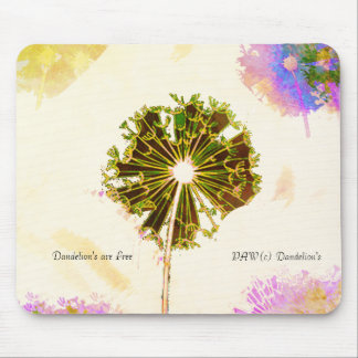 Mouse Pad_Dandelion's are Free_Multi-Colors_ Mouse Pad