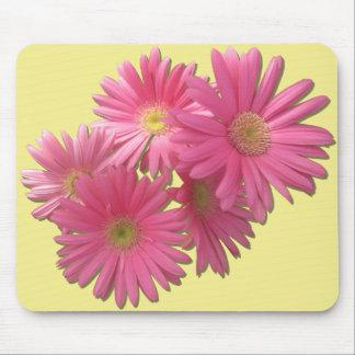 Mouse Pad - Dark Pink Gerbera Daisies