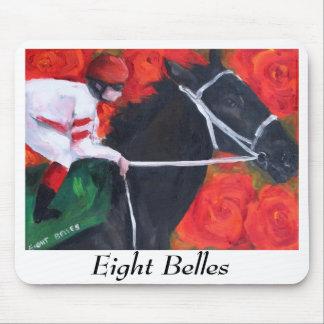 Mouse pad Eight Belles memorial