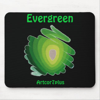 Mouse pad  Evergreen