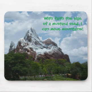 Mouse Pad: Faith the size of a mustard seed