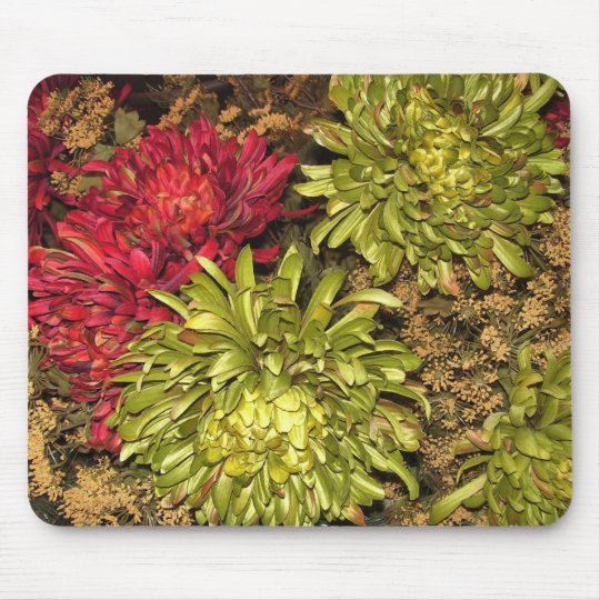 Mouse Pad - Fall Flowers