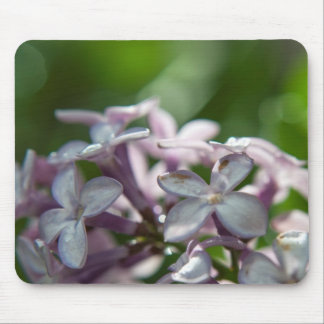 Mouse Pad featuring Lilac flower macro photography