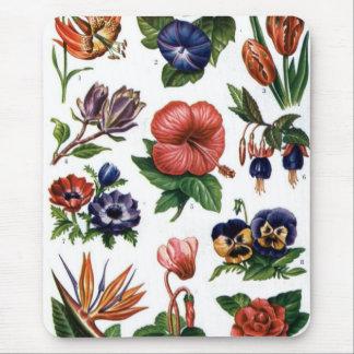 Mouse Pad - Flores