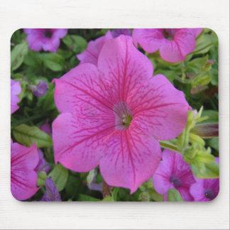 Mouse Pad. Flower. Flor lila Mousepad
