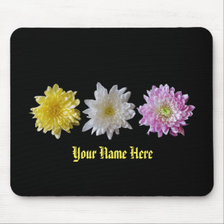 Mouse Pad Flower Name